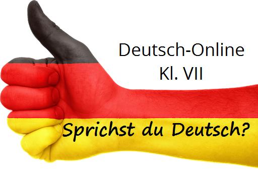 JĘZYK NIEMIECKI: Sprachen lernen - 27.03.20 r.