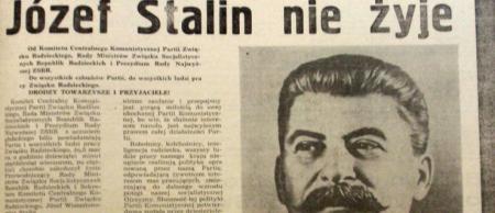 Historia: Destalinizacja w Polsce. 08.04.2020