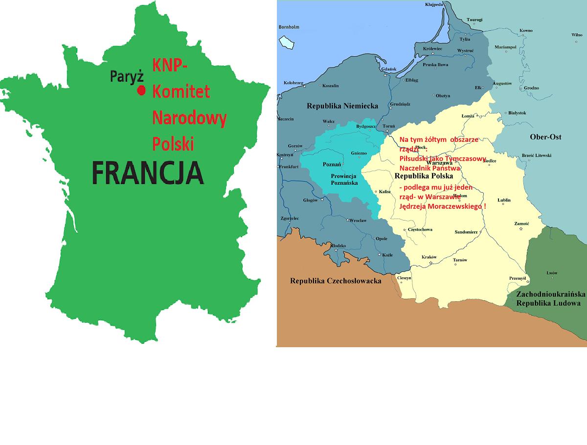 Historia: Pierwsze ośrodki władzy na ziemiach polskich w 1918. 16.04.2020