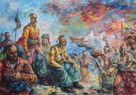 Historia : Przyczyny wojny z Kozakami. 21.04.2020