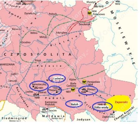 Historia: Powstanie Chmielnickiego 1648. 21.04.2020