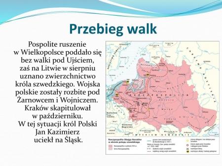 Historia: Potop szwedzki. 22.04.2020