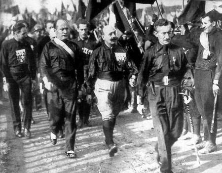 Historia: Faszyzm we Włoszech. 23.04.2020