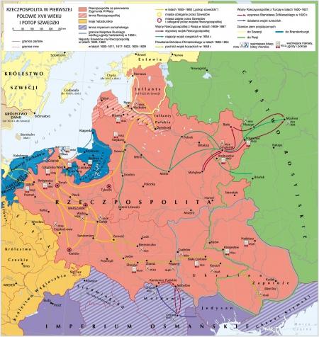 Historia : Rzeczpospolita w XVII wieku- -powtórzenie on-line 04.05.2020