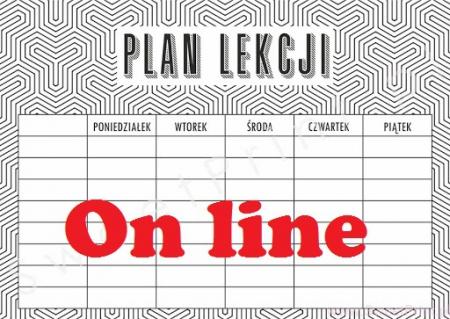 Plan lekcji on-line