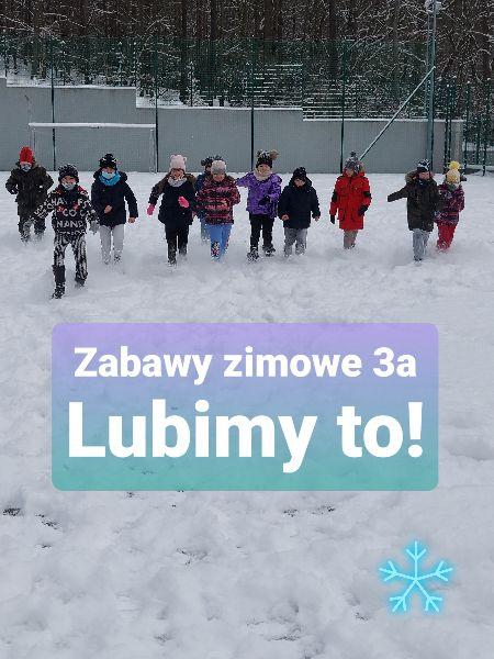 ZABAWY ZIMOWE 3A