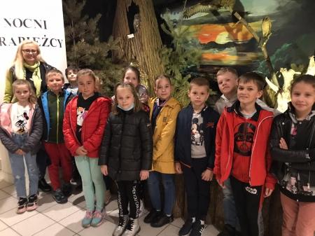 Lekcja przyrody w Muzeum Przyrodniczym WPN